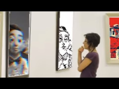 The Mine Song But It's Performed In An Art Gallery Of Paintings