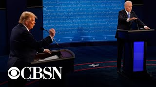 Trump and Biden return to campaign trail after final presidential debate