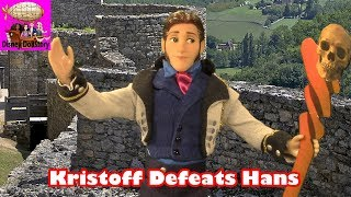 Super Hero Kristoff Defeats Prince Hans
