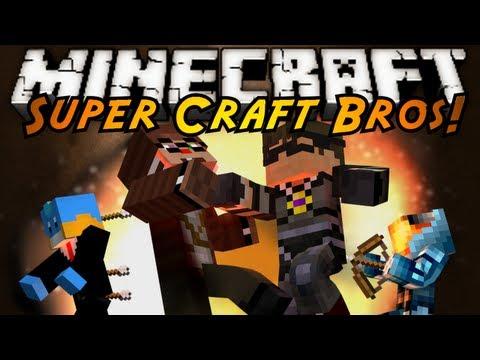 Minecraft Mini-Game : SUPER CRAFT BROS BRAWL 2!