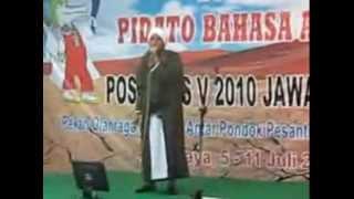 Juara Pidato Bahasa Arab Nasional POSPENAS