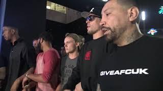 Nate Diaz Arives AT Victory Party EsNews Boxing