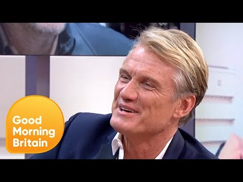 Dolph Lundgren on Putting Sylvester Stallone in Hospital  Good Morning Britain