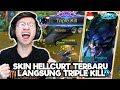 NEW SKIN HELLCURT TRIPLE KILL TAPI KOK GINI...!? - MOBILE LEGENDS INDONESIA