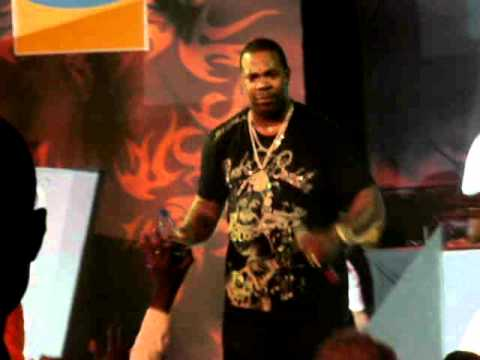 Busta Rhymes live in Accra, Ghana 2009!