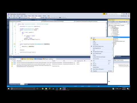 Dependency Injection Code Demonstration