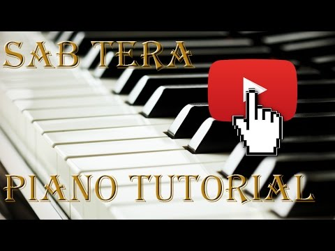 SAB TERA |BAAGHI|  Chords  / Piano Tutorial