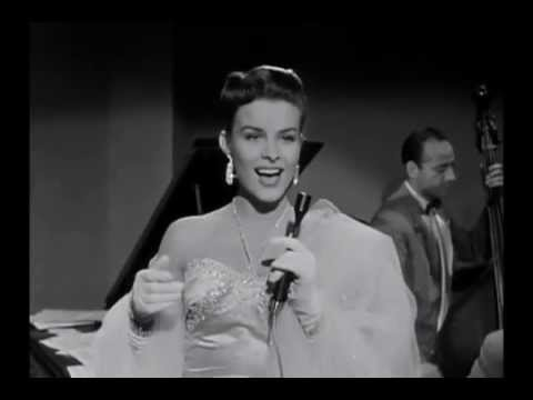 Jean Peters performs I Know Why and So Do You 1953
