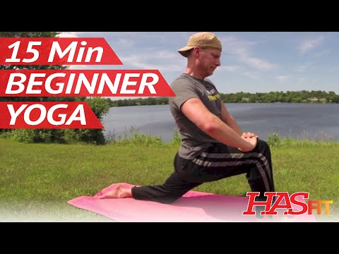 15 Min Yoga for Beginners w/ Sean Vigue Beginner Yoga for Weight Loss, Strength, Flexibility