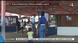 Ecole Phinéra-Horth : Mécontentement Des Parents D'élèves