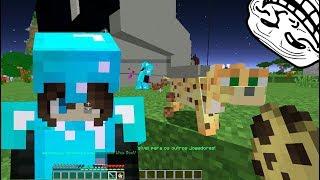 AS MENINAS SÓ QUERIAM UM GATINHO! Minecraft Troll
