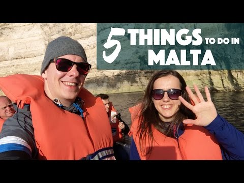 ✈️ 5 things to do in Malta
