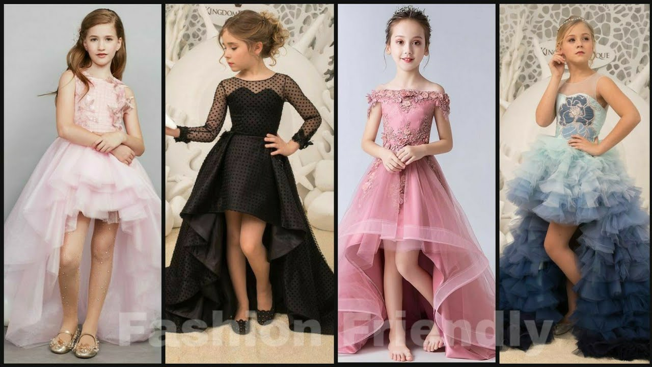 Kids gown designs 8  Latest high low gown designs for kids girls -  Fashion Friendly