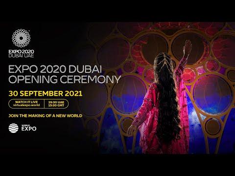 Expo 2020 Dubai   Opening Ceremony Live