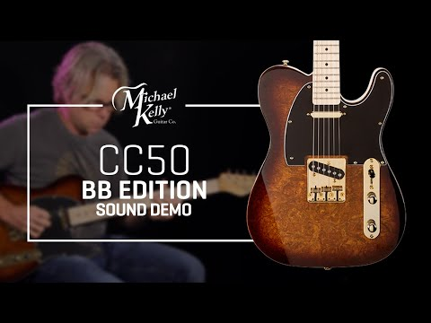 Michael Kelly Custom Collection 50 Burl Burst Edition Sound Demo