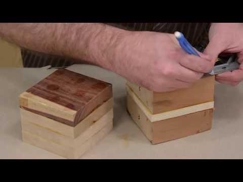 Woodworking gift ideas for holiday season - Cactus Planter