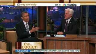 President Obama Talks Roscoe's With Jay Leno