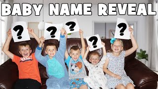 BABY NAME REVEAL