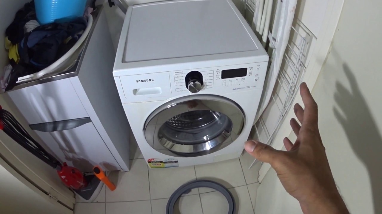 Door Seal Samsung Front Loader Washing Machine How To