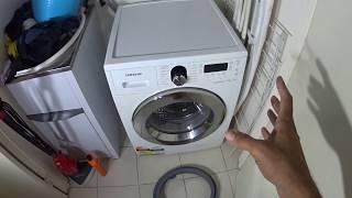 Door Seal Samsung Front Loader Washing Machine How to