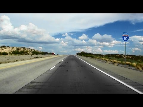 I-10 WEST TEXAS TIME LAPSE