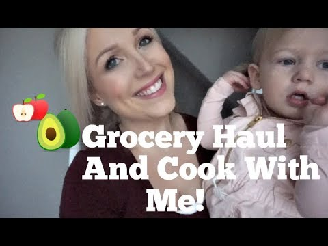 Costco Grocery Haul and Cook With Me! Stay At Home Mom Life!
