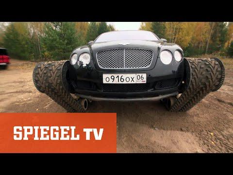 Panzer-Bentley und Batmobil