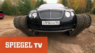 Panzer-Bentley und Batmobil (1/2): Autoposer Russland