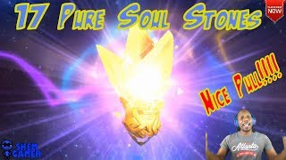 17 Pure Soul Stones (Nice Pull) - Might and Magic Elemental Guardians