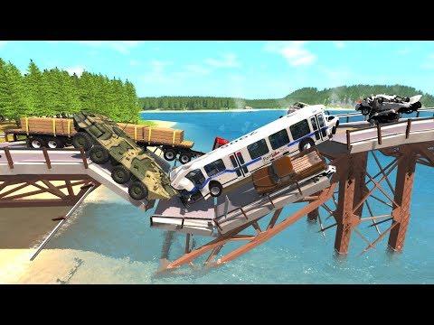 Collapsing Bridge Pileup