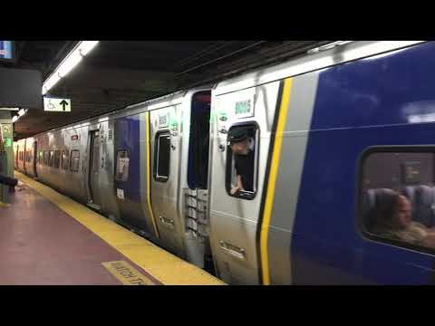MTA Long Island Rail Road [LIRR] 12-Car Kawasaki M9 EMU Departs NYP On Train 184 (12/11/19)