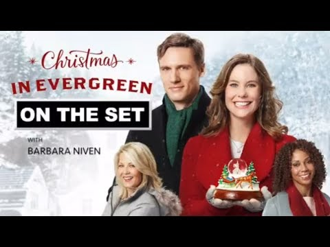 Christmas In Evergreen.Christmas In Evergreen On The Set With Barbara Niven Part 1