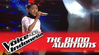 "Alif ""Hapus Aku"" I The Blind Auditions I The Voice Kids Indonesia GlobalTV 2016"