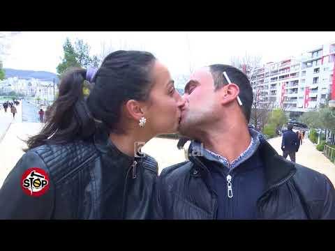 Stop - Shën Valentini në Tiranë, dhurata dhe puthje në kodrat e liqenit! (14 shkurt 2018)