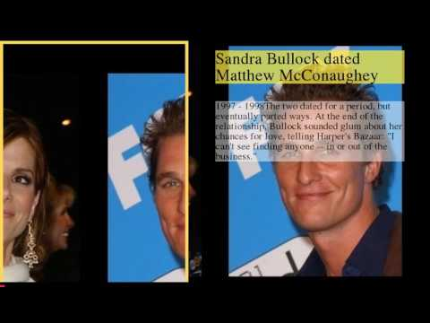 Sandra Bullock Dating History