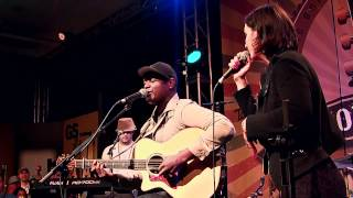 "Javier Colon ""As Long As We Got Love"" Live with Rebecca Correia - NAMM 2012 with Taylor Guitars"