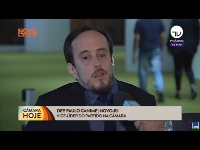 Paulo Ganime no Jornal da TV Câmara | ao vivo | Previdência 09/07/2019