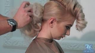 Evening hairstyle ideas for medium hair styles.