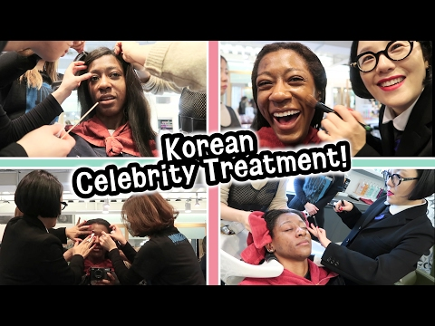 Experiencing a Korean Celebrity Beauty Salon! - this was INTENSE!