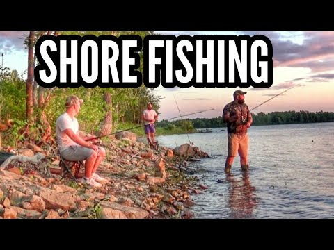SHORE FISHING Montreal!
