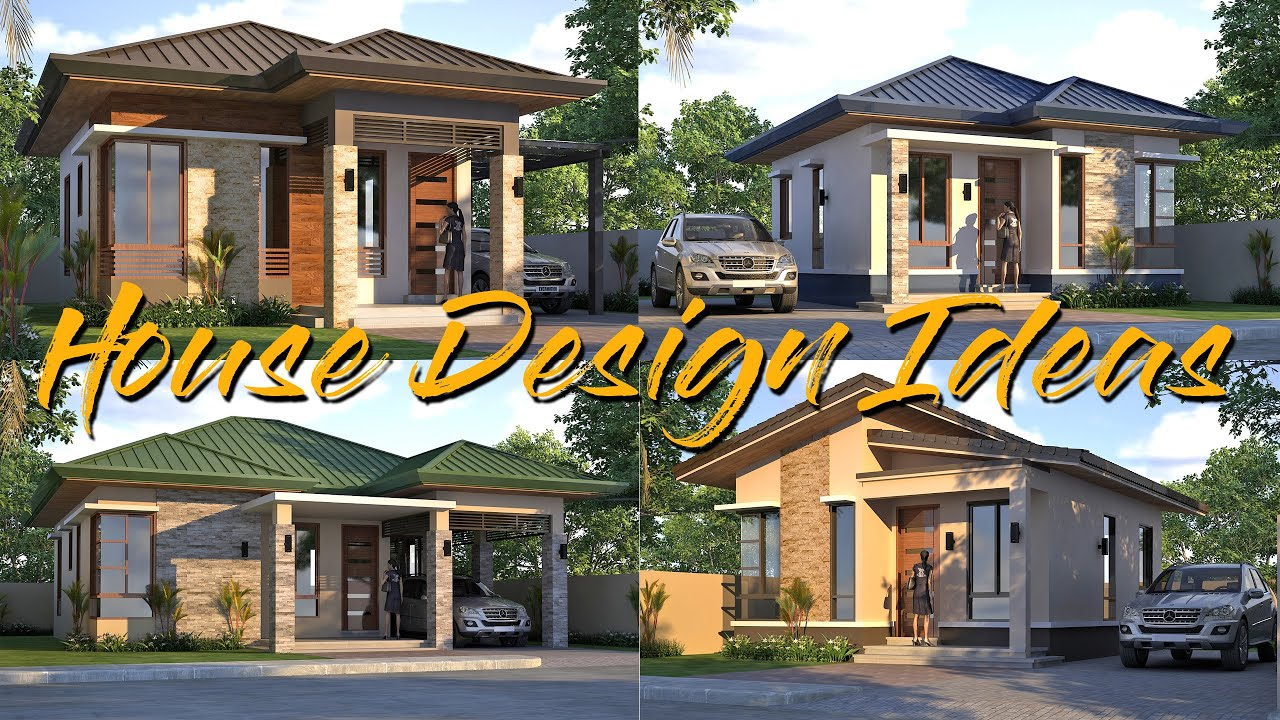 32 Simple and Beautiful Modern Small Bungalow House Design l Comparison plus  Estimated Cost