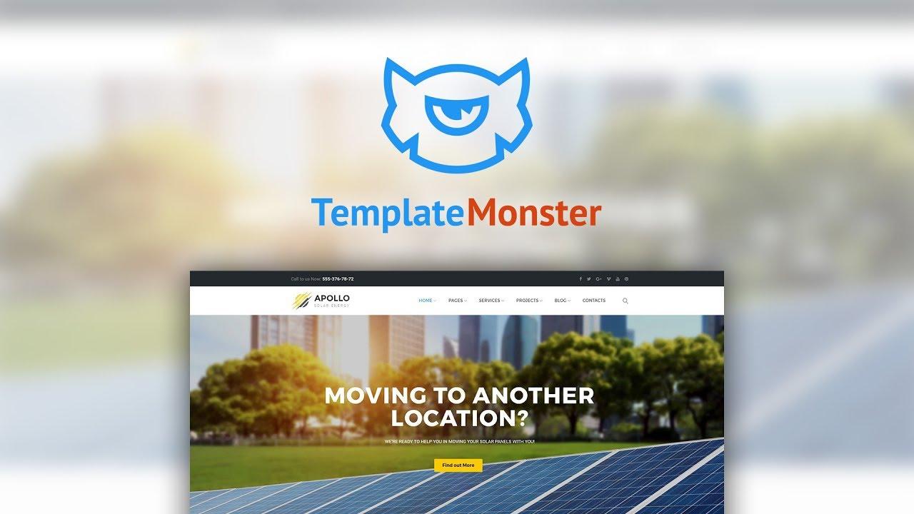 Apollo Solar Energy Company Responsive Wordpress Theme