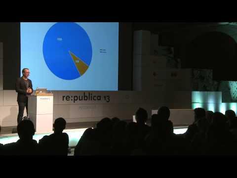re:publica 2013 - Markus Beckedahl: Unser Blog soll schöner werden on YouTube