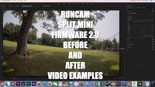 RUNCAM SPLIT MINI FIRMWARE 2.0..CHASING THE TURTLE...AND LOST!!