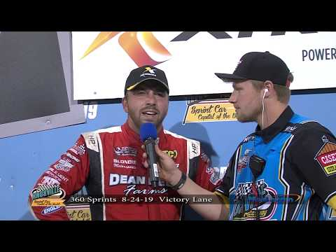 Knoxville Raceway 360 Victory Lane - August 24, 2019