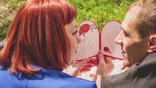 Годовщина свадьбы 1 год выездная фотосессия с мужем у замка