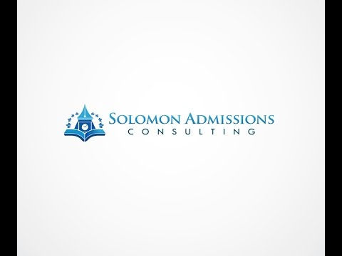 Solomon Admissions Consulting | College Admissions Webinar