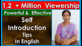 """Self Introduction at Interviews"" Tips in English"