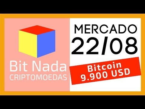 Mercado de Cripto! Bitcoin 9.900 USD / Polícia no Bitcoin Banco / Quem é Satoshi?