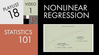 Statistics 101: Nonlinear Regression, The Very Basics